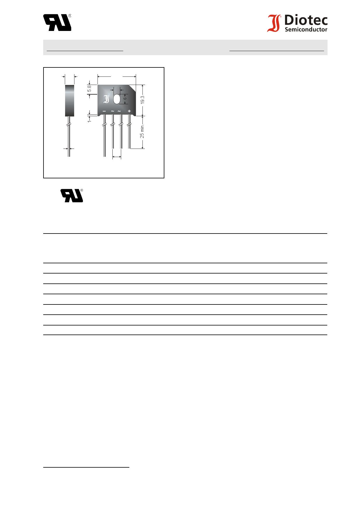 KBU6 datasheet