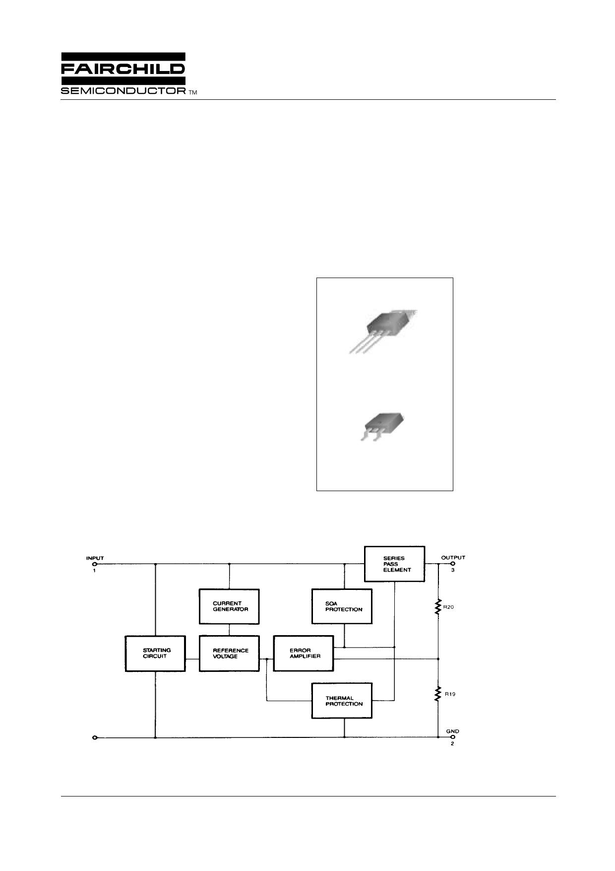 KA78M18 Datasheet, KA78M18 PDF,ピン配置, 機能