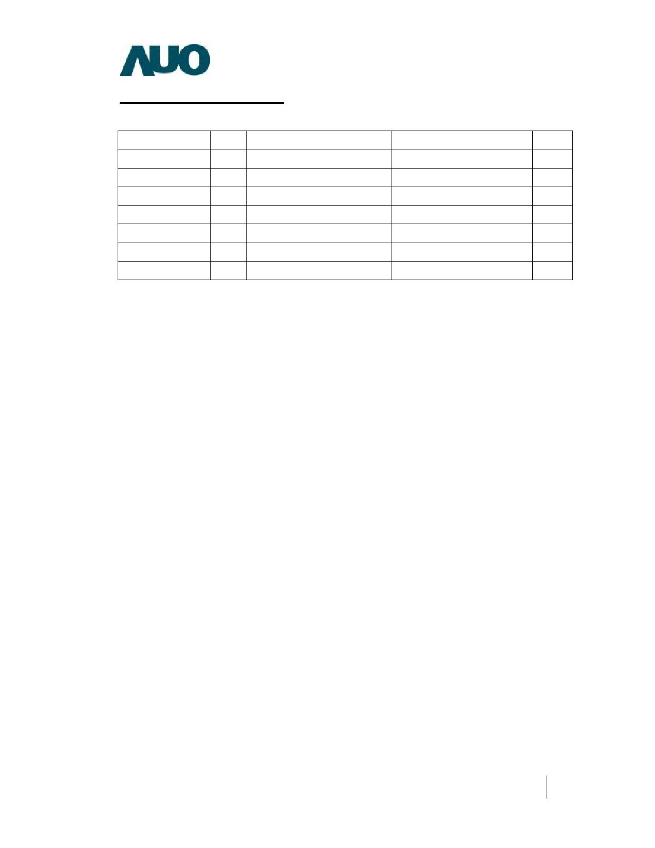 G084SN03-V0 pdf, ピン配列