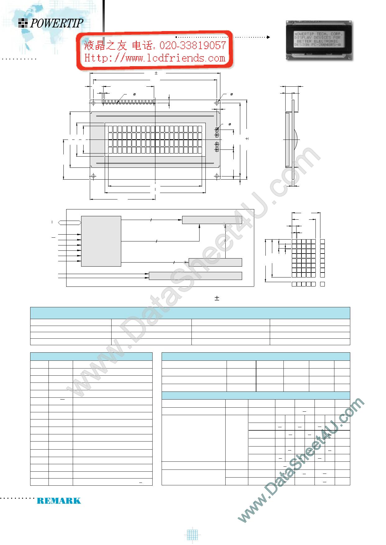 pc2004a datasheet