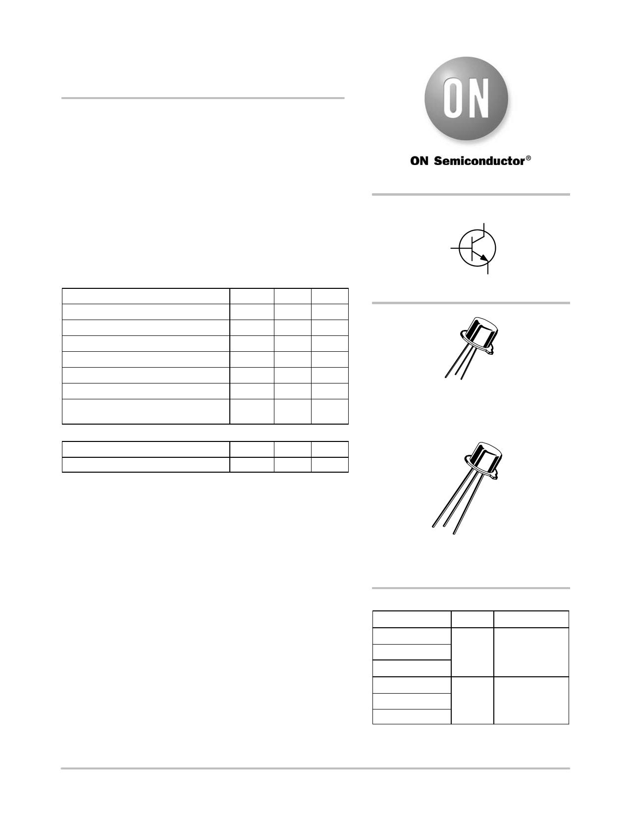 Transistor 2n2219a datasheet