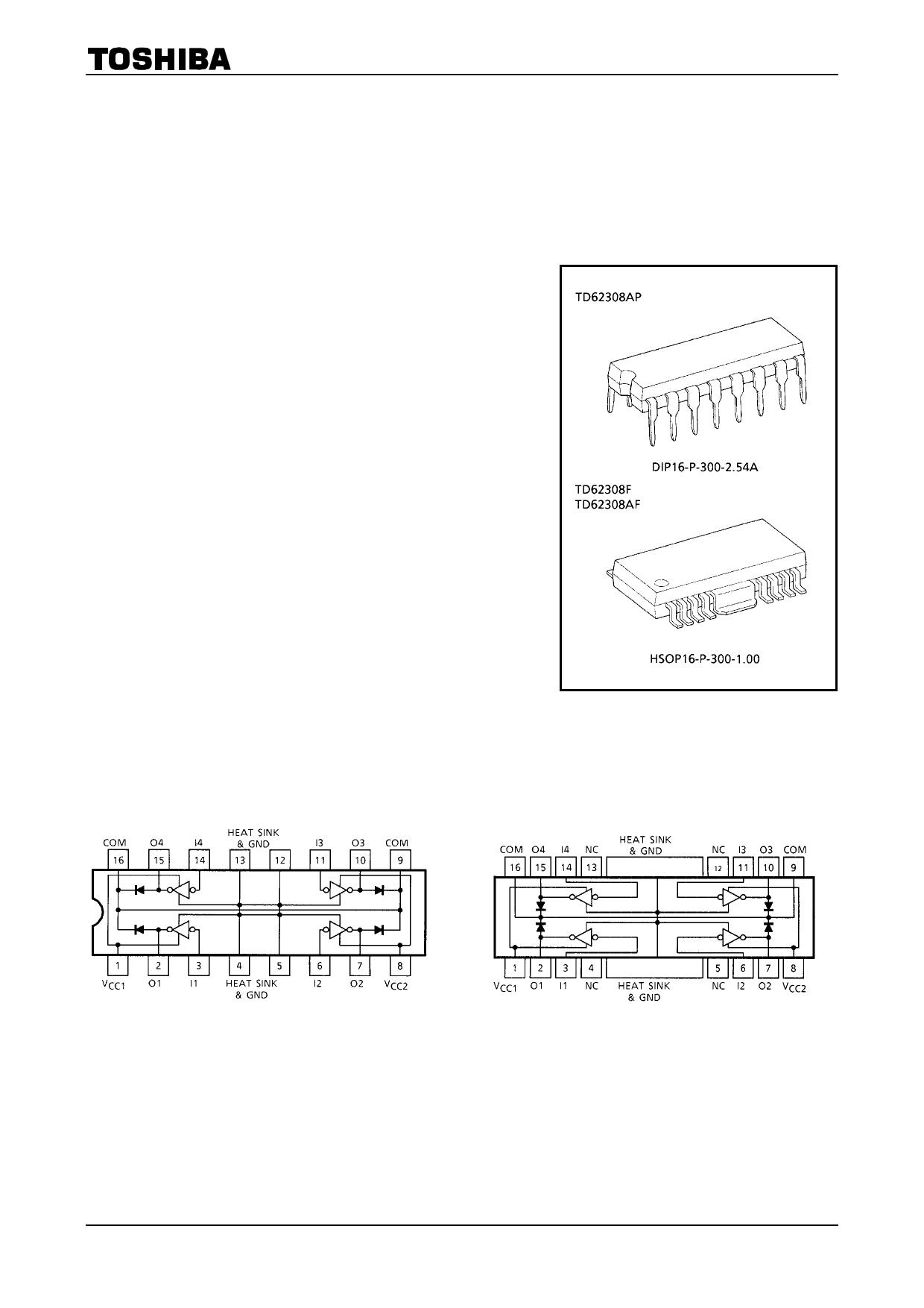 TD62308AP دیتاشیت PDF