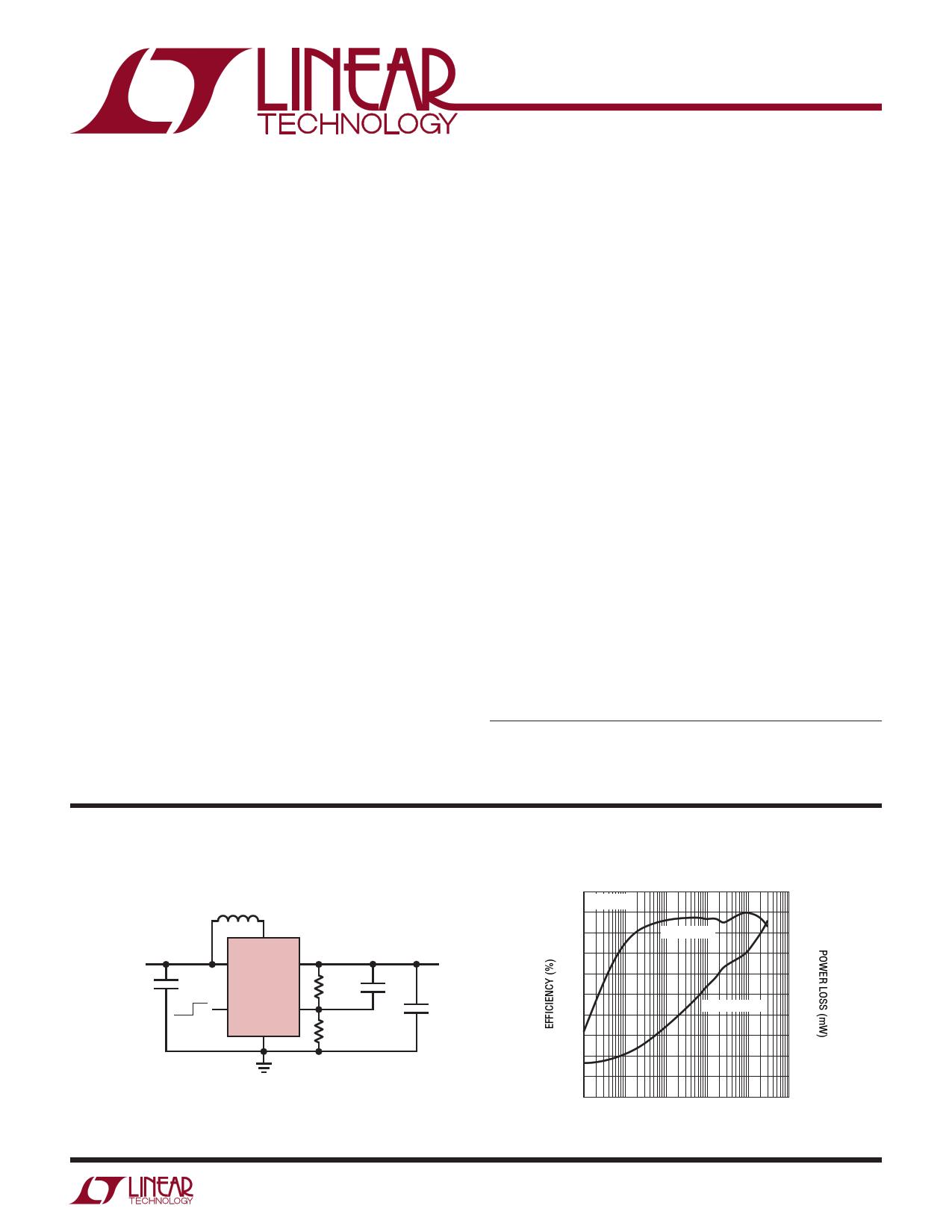 LTC3526L-2 Datasheet, LTC3526L-2 PDF,ピン配置, 機能