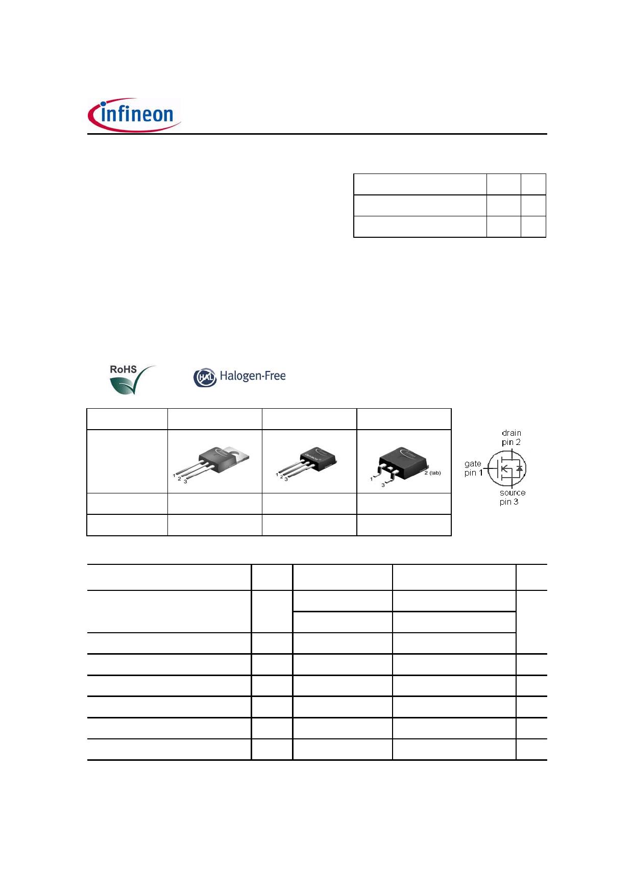 139N08N Datasheet