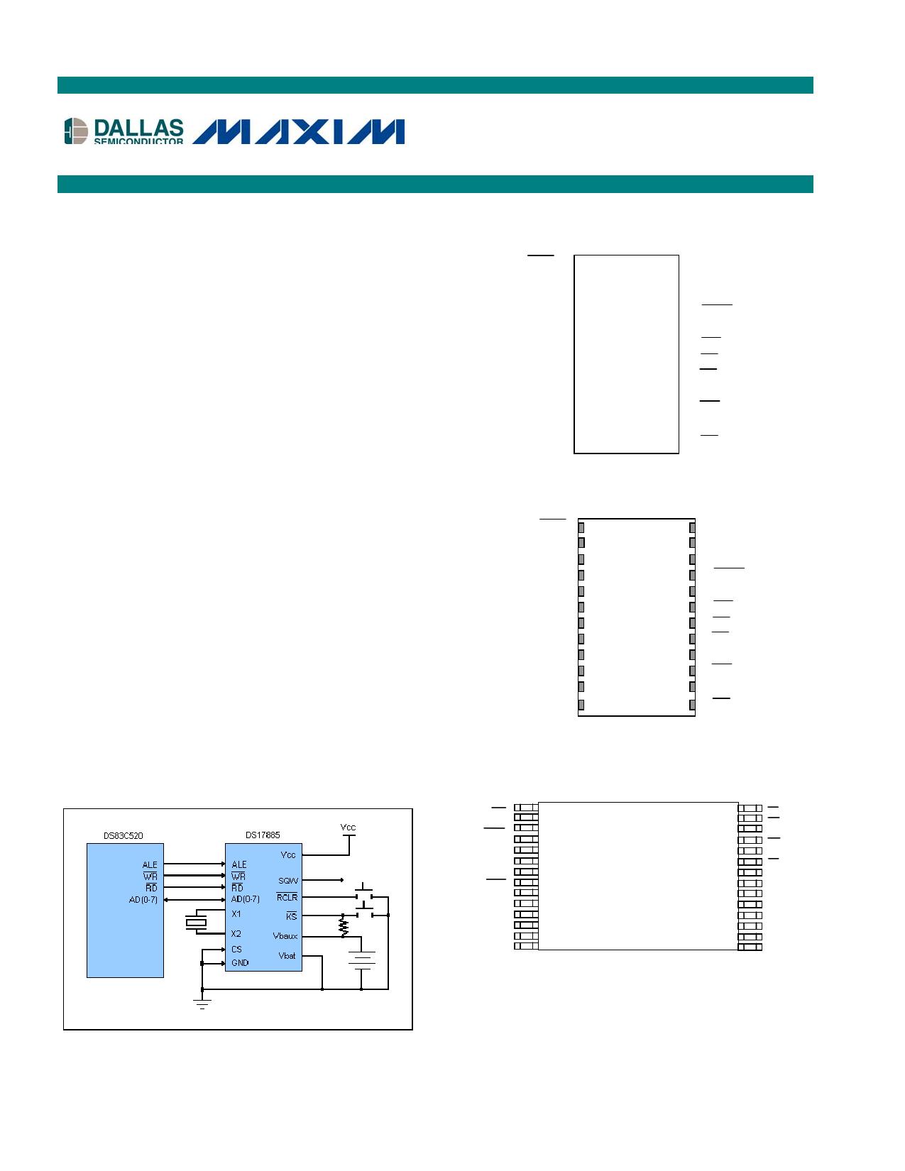 DS17885 دیتاشیت PDF
