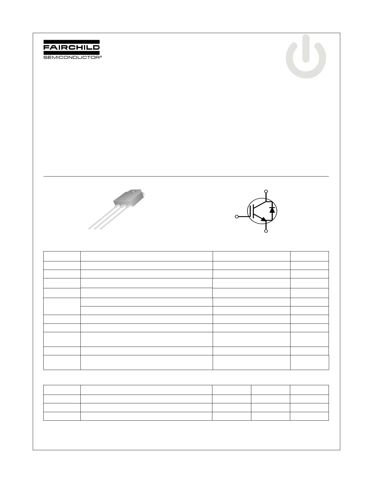 FGA70N33BTD datasheet, circuit