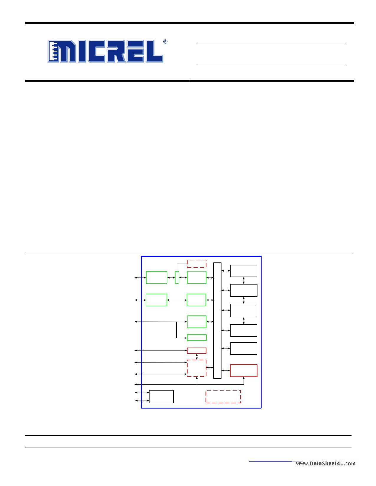 KSZ8993FL دیتاشیت PDF
