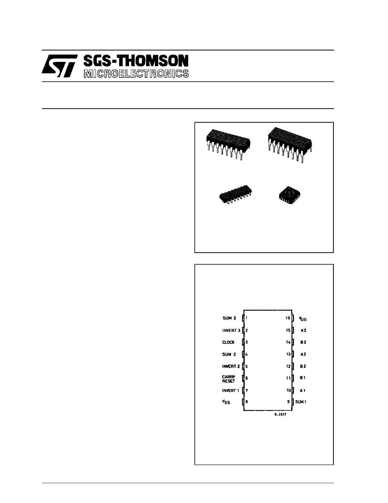 HCC4038BF دیتاشیت PDF
