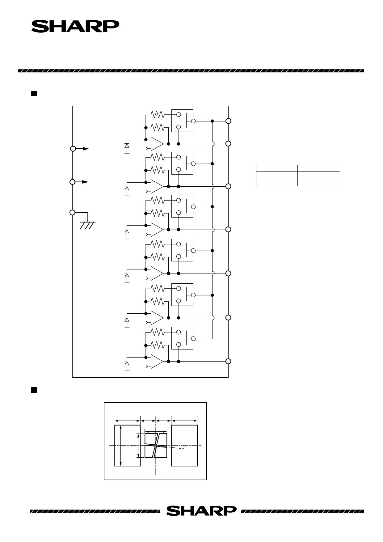 IS1640 pdf, ピン配列