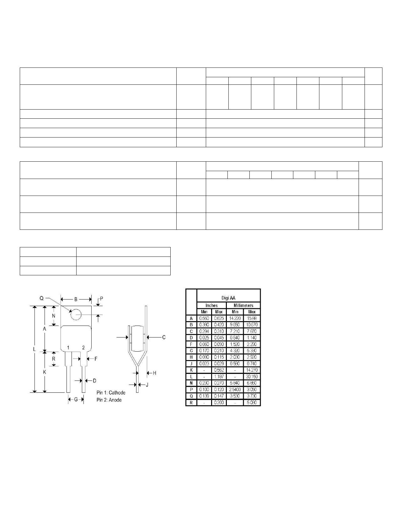 MR2410R 데이터시트 및 MR2410R PDF