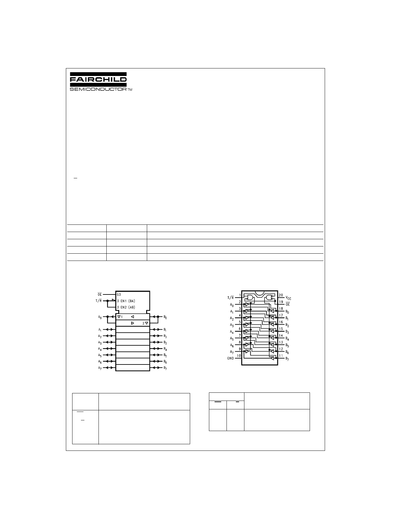 74VHC245 دیتاشیت PDF
