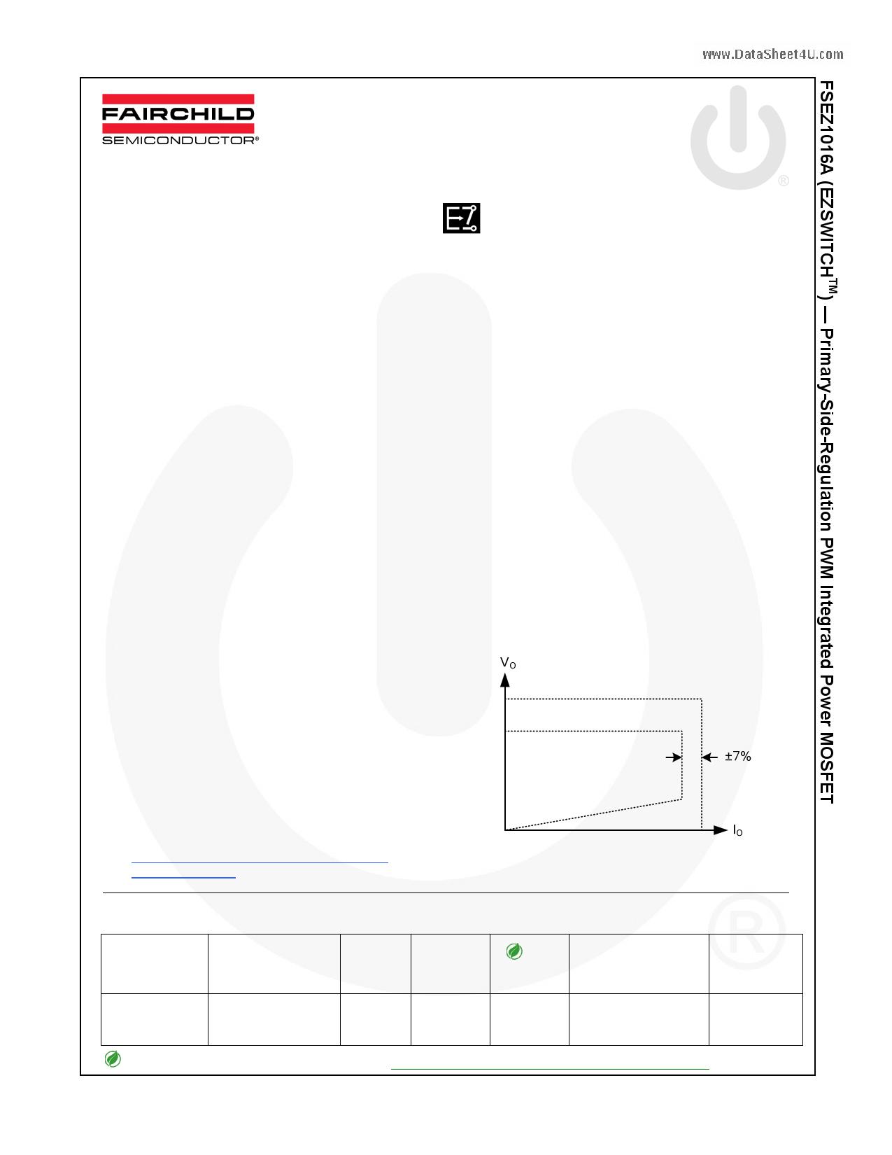 FSEZ1016A datasheet