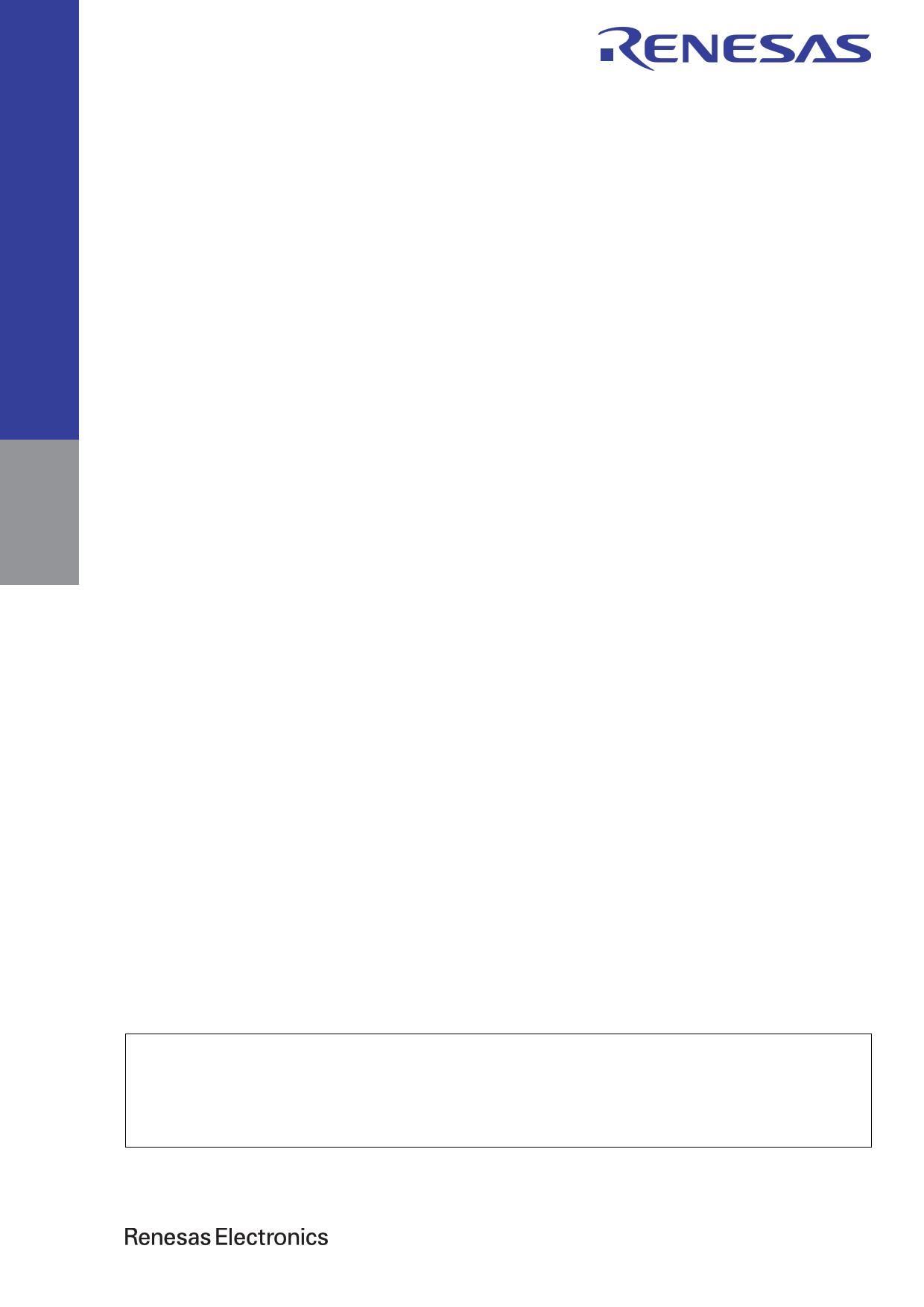 R5F51136ADFM 데이터시트 및 R5F51136ADFM PDF