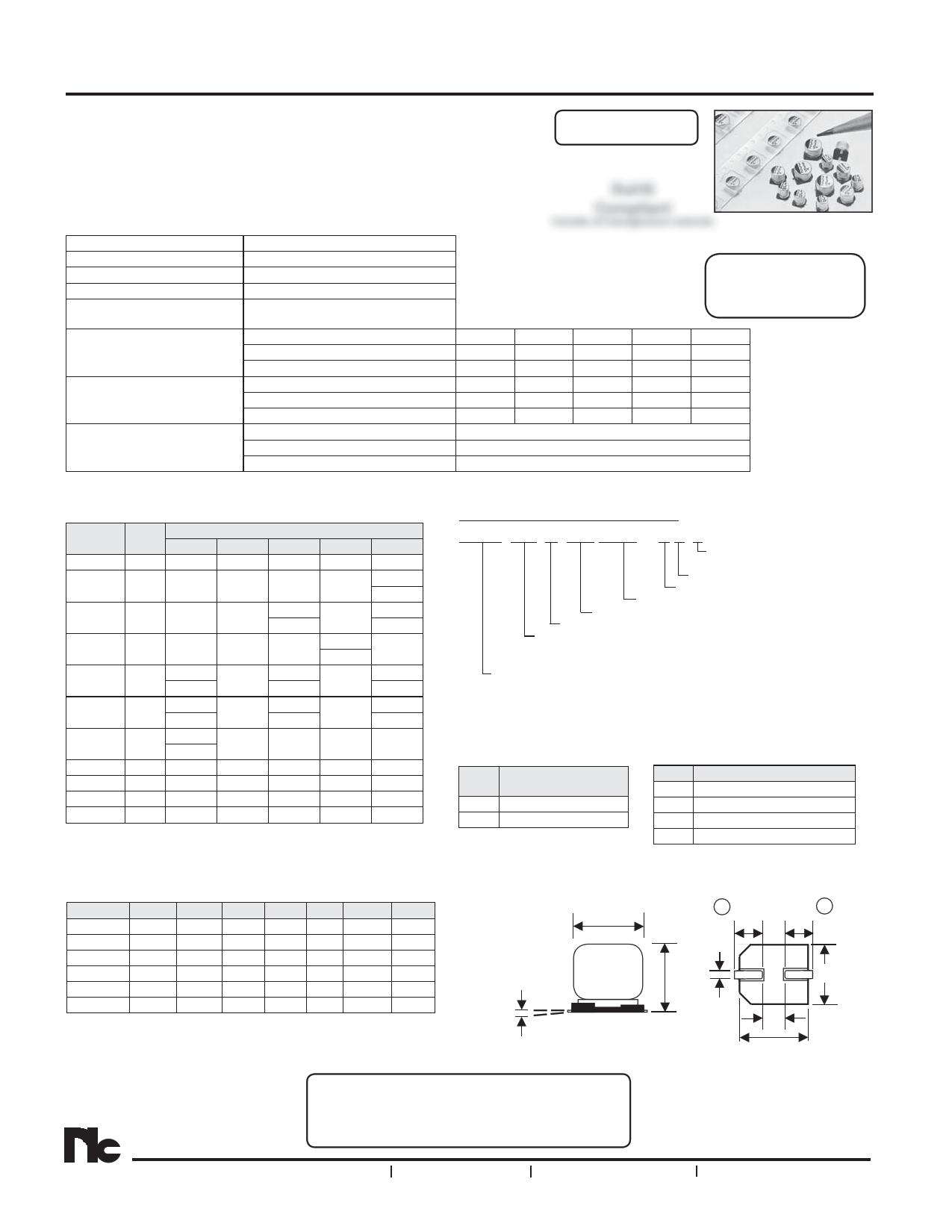 NAZK221M6.3V6.3X8NBF دیتاشیت PDF