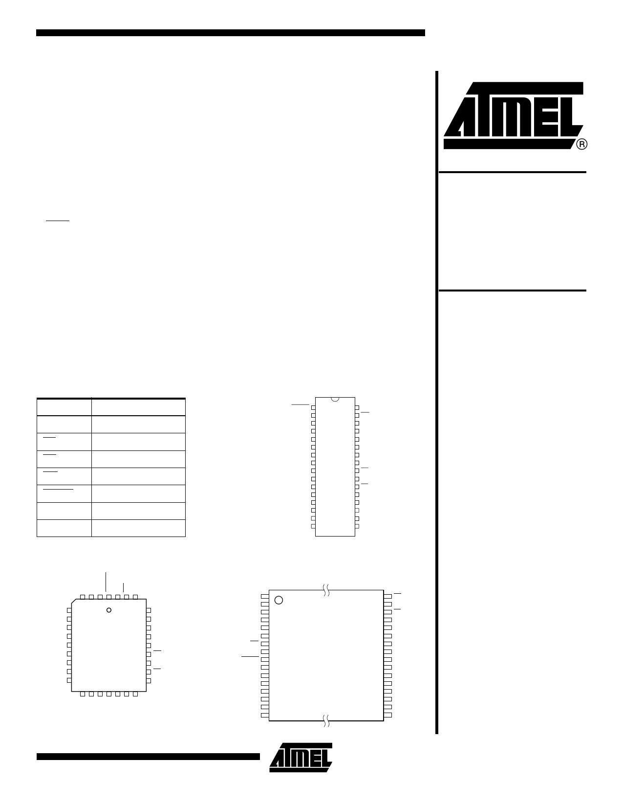 AT49F002 دیتاشیت PDF