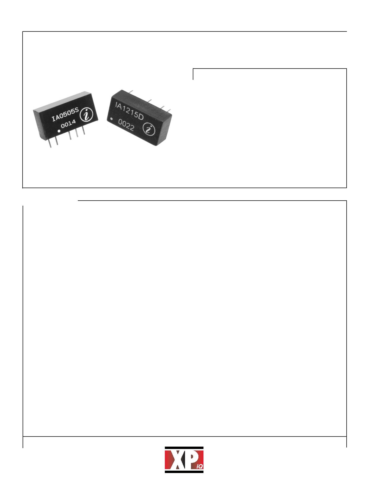 IA1203 datasheet
