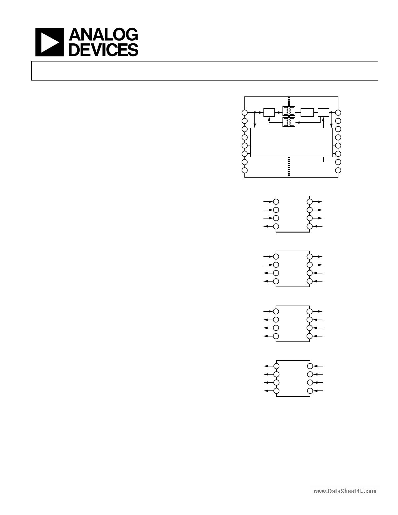 ADUM5401 دیتاشیت PDF