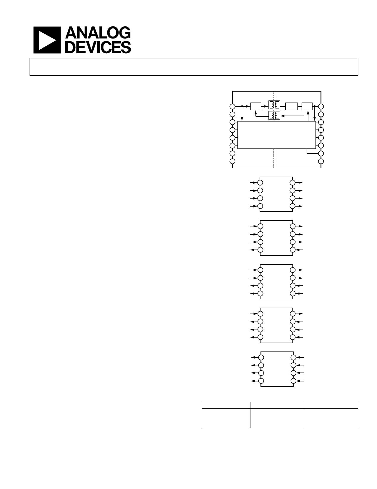 ADUM6401 دیتاشیت PDF