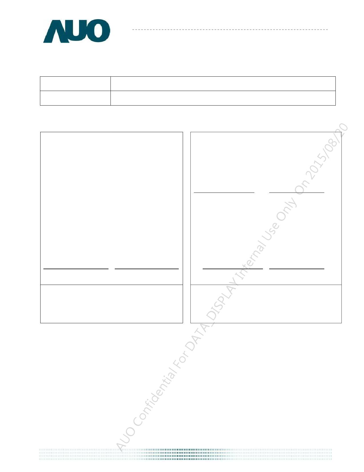 G101EVN01.0 دیتاشیت PDF