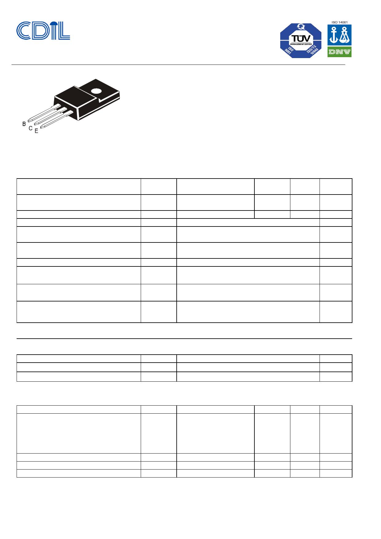 CJF101 دیتاشیت PDF