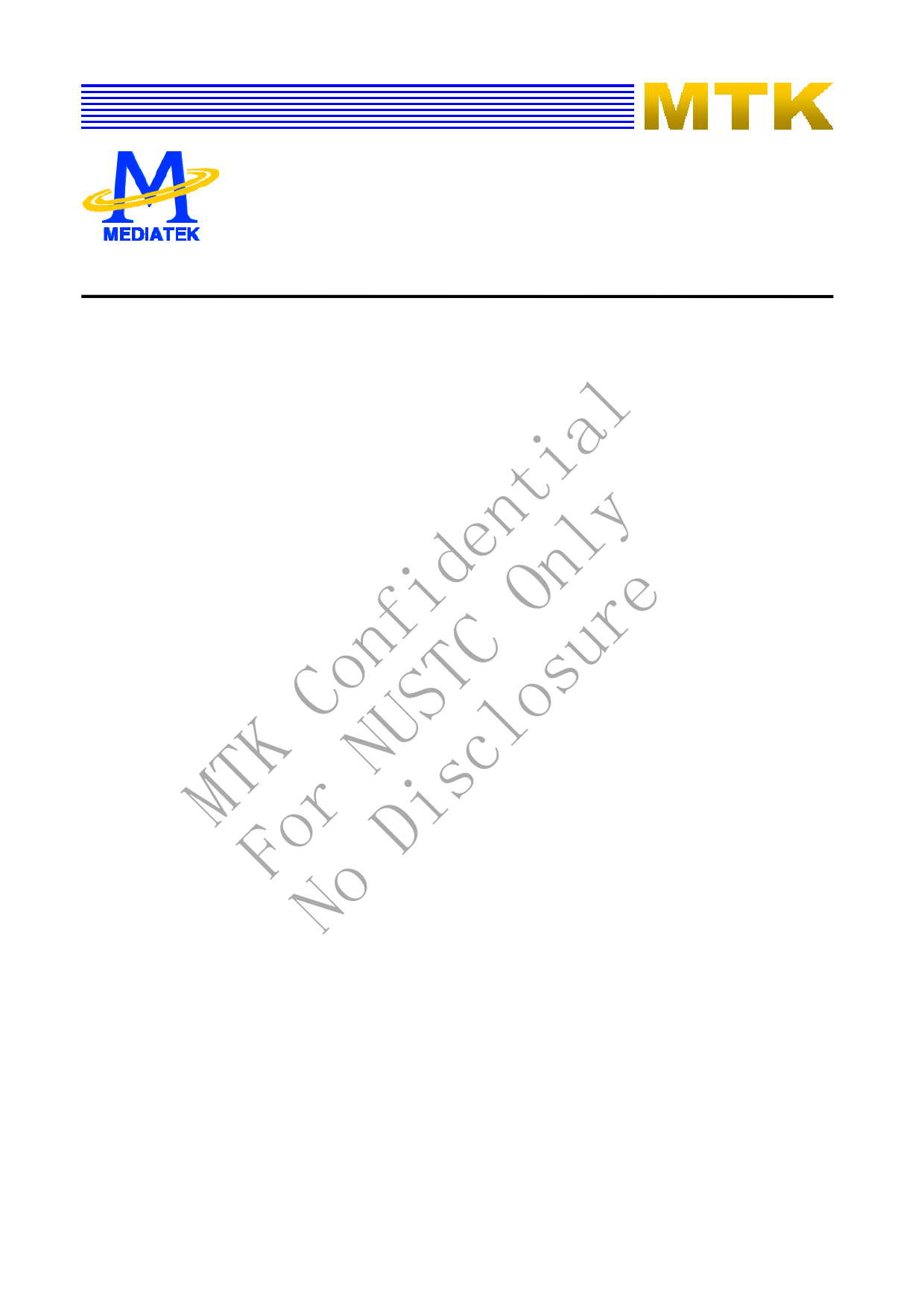 MT8292 데이터시트 및 MT8292 PDF