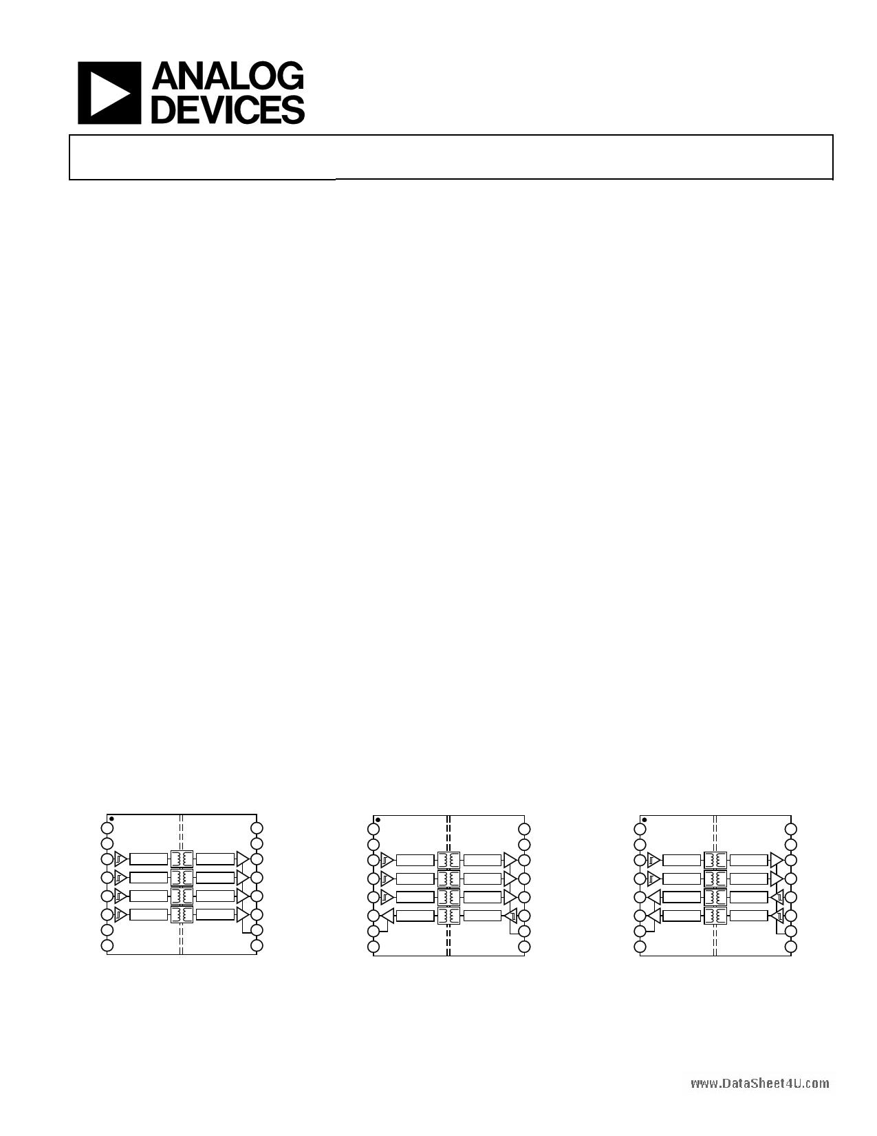 ADUM4400 دیتاشیت PDF