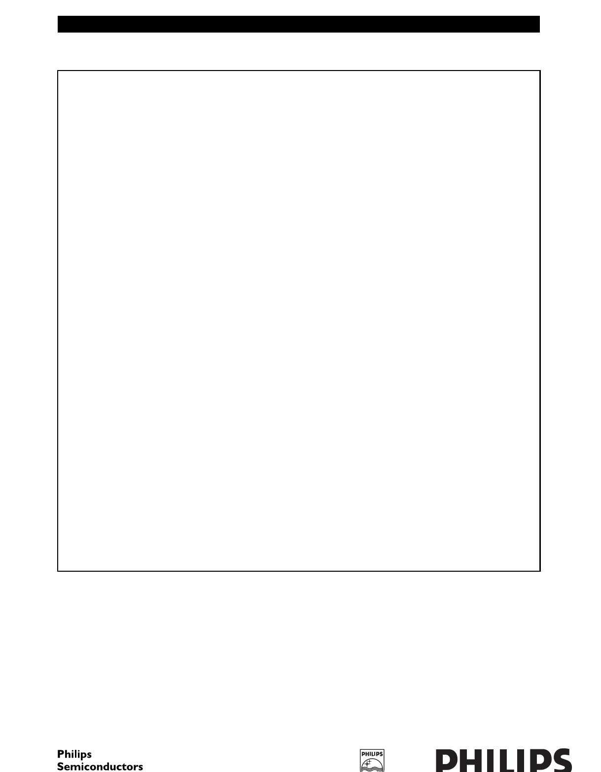 SAA7117 دیتاشیت PDF