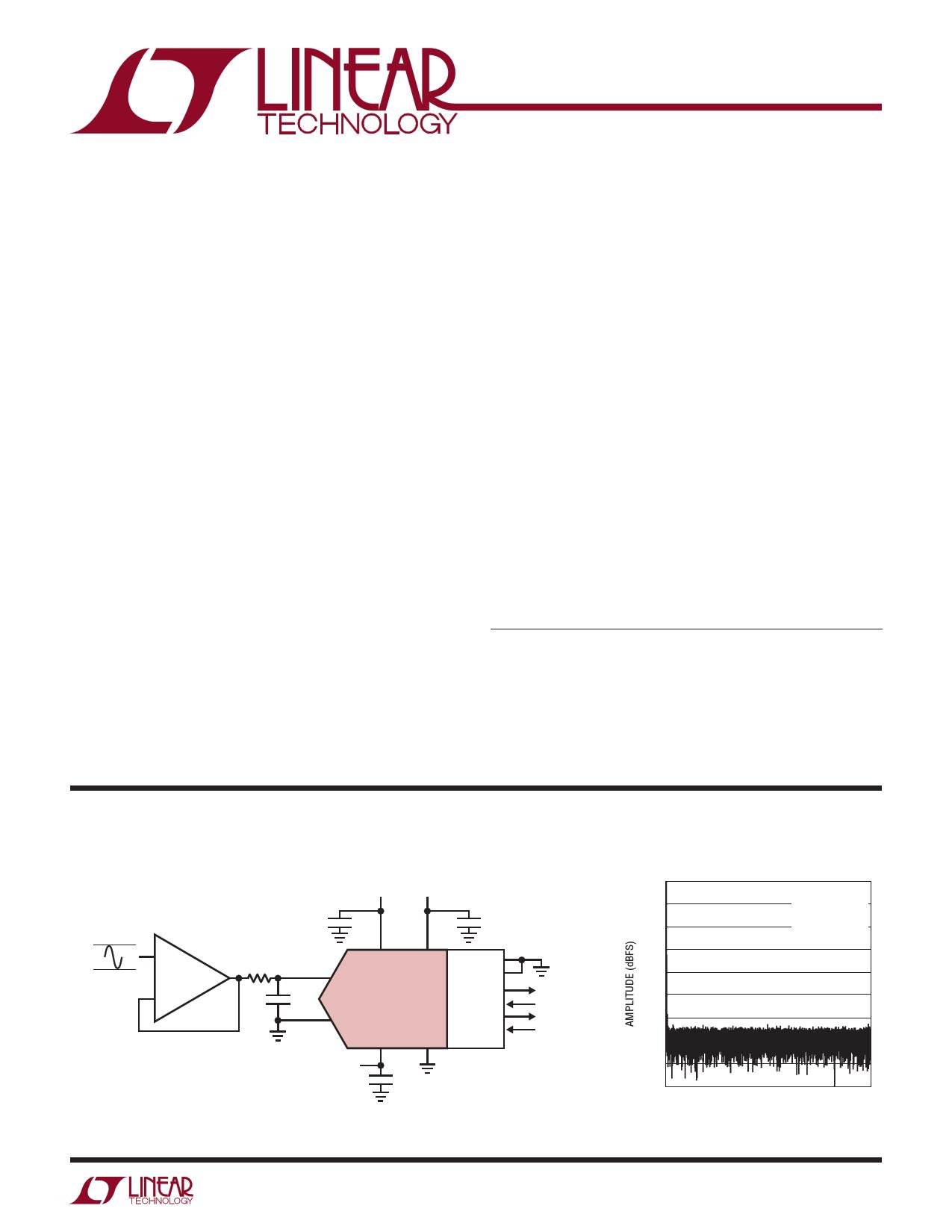 LTC2368-16 Datasheet, LTC2368-16 PDF,ピン配置, 機能
