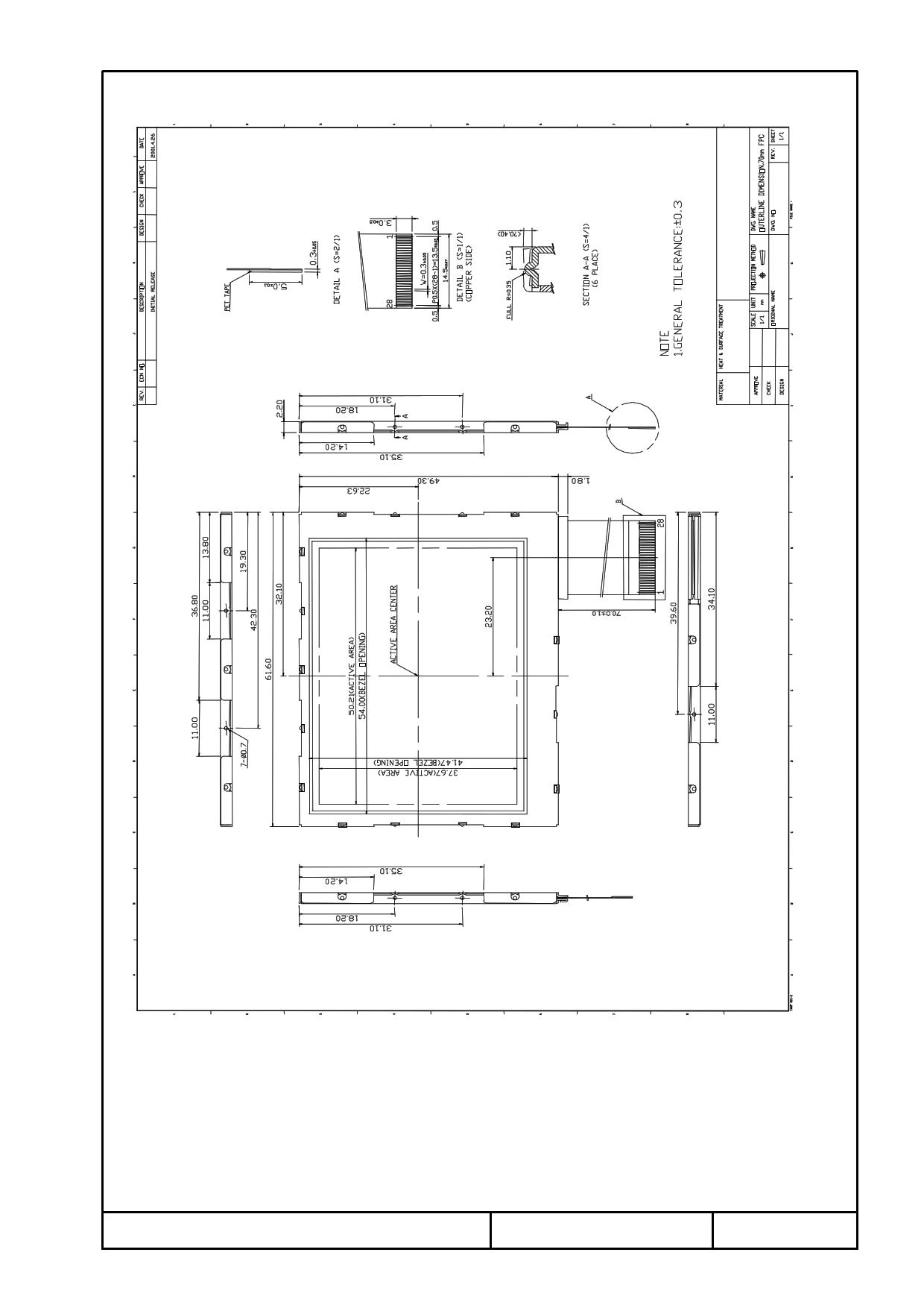 T-51378L025J_FW_P_AB Даташит, Описание, Даташиты
