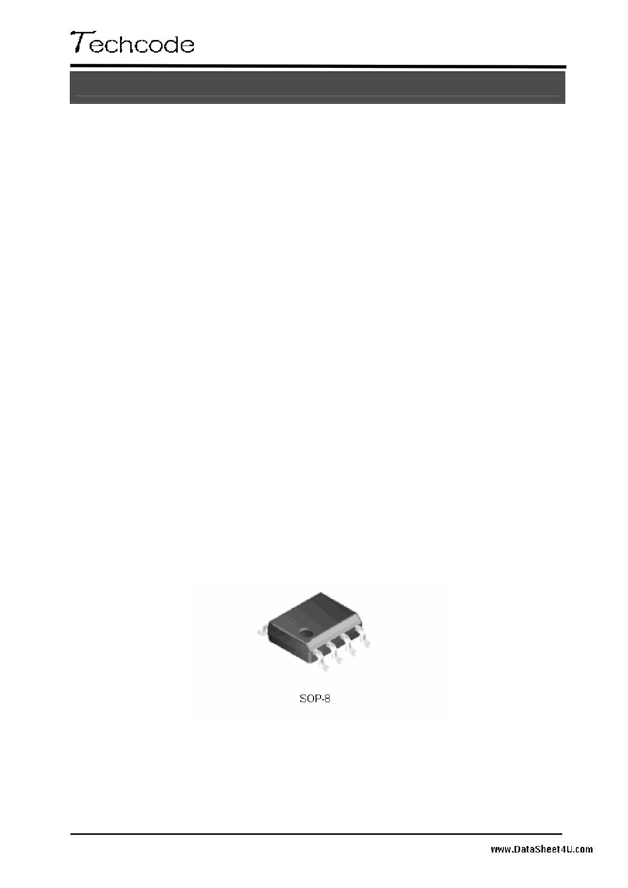 TD1583 datasheet pinout