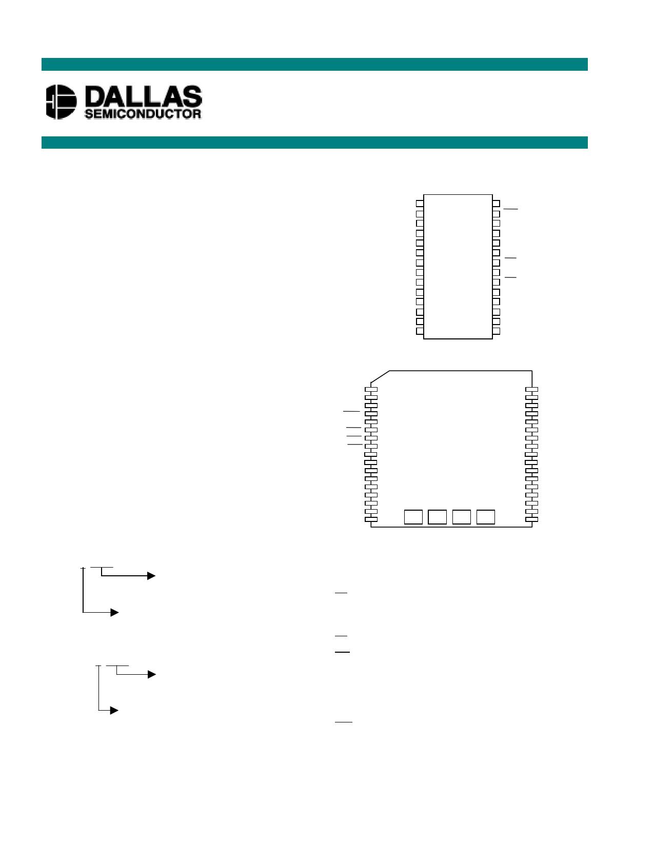 DS1743 دیتاشیت PDF