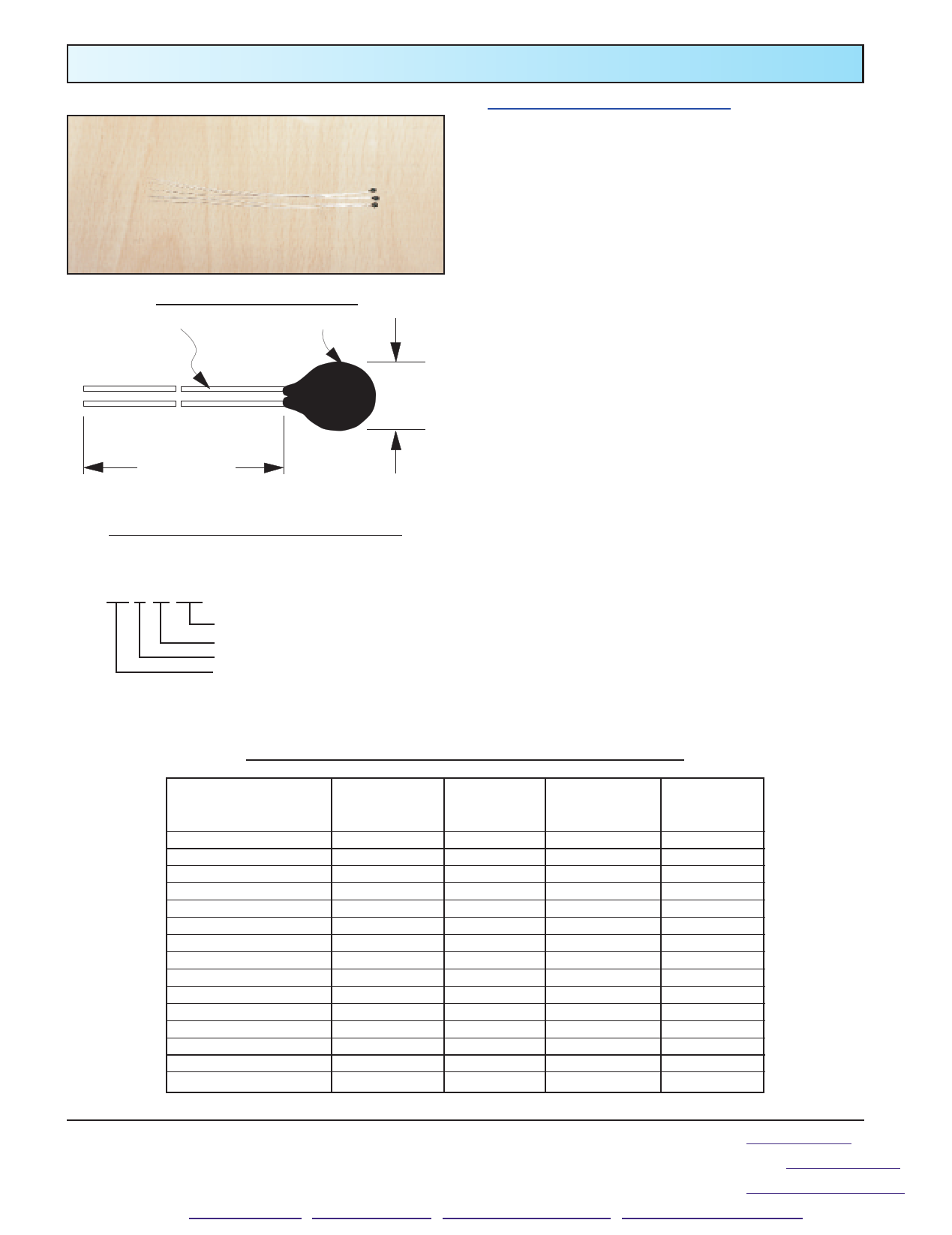 0.3K1A1-25 Hoja de datos, Descripción, Manual