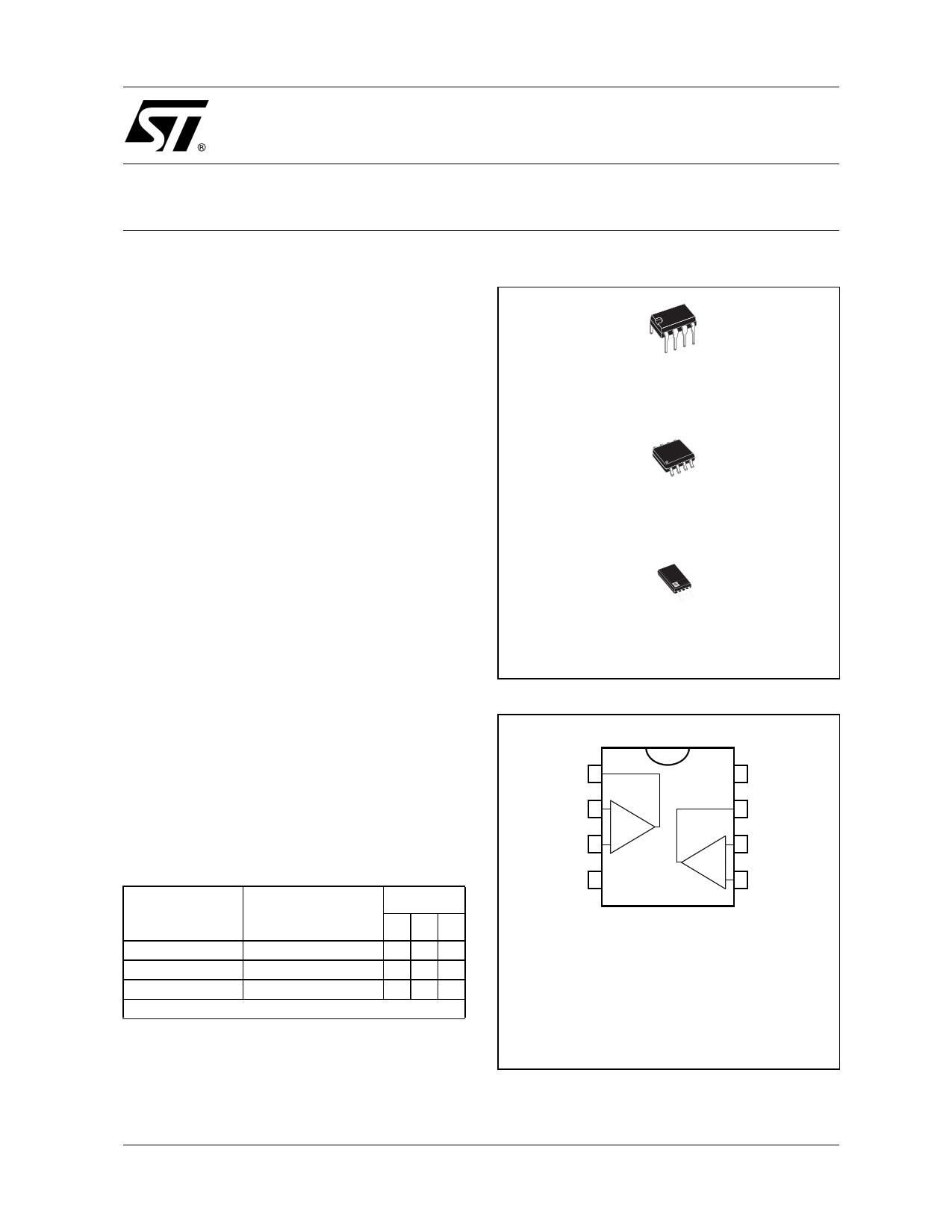 TS27M2I Datasheet, TS27M2I PDF,ピン配置, 機能