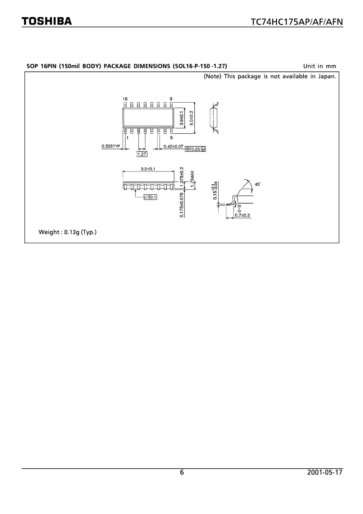 74HC175AP 電子部品, 半導体