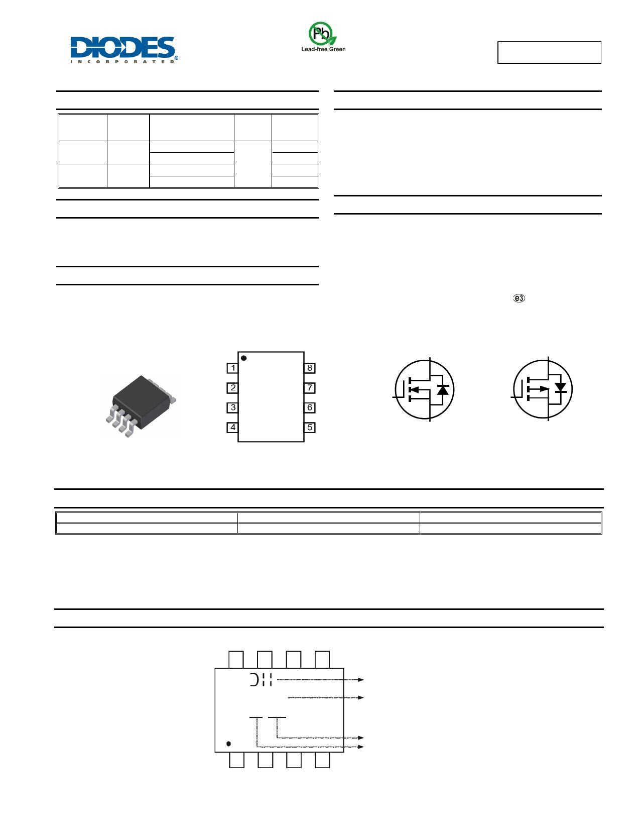 DMC3025LSD datasheet