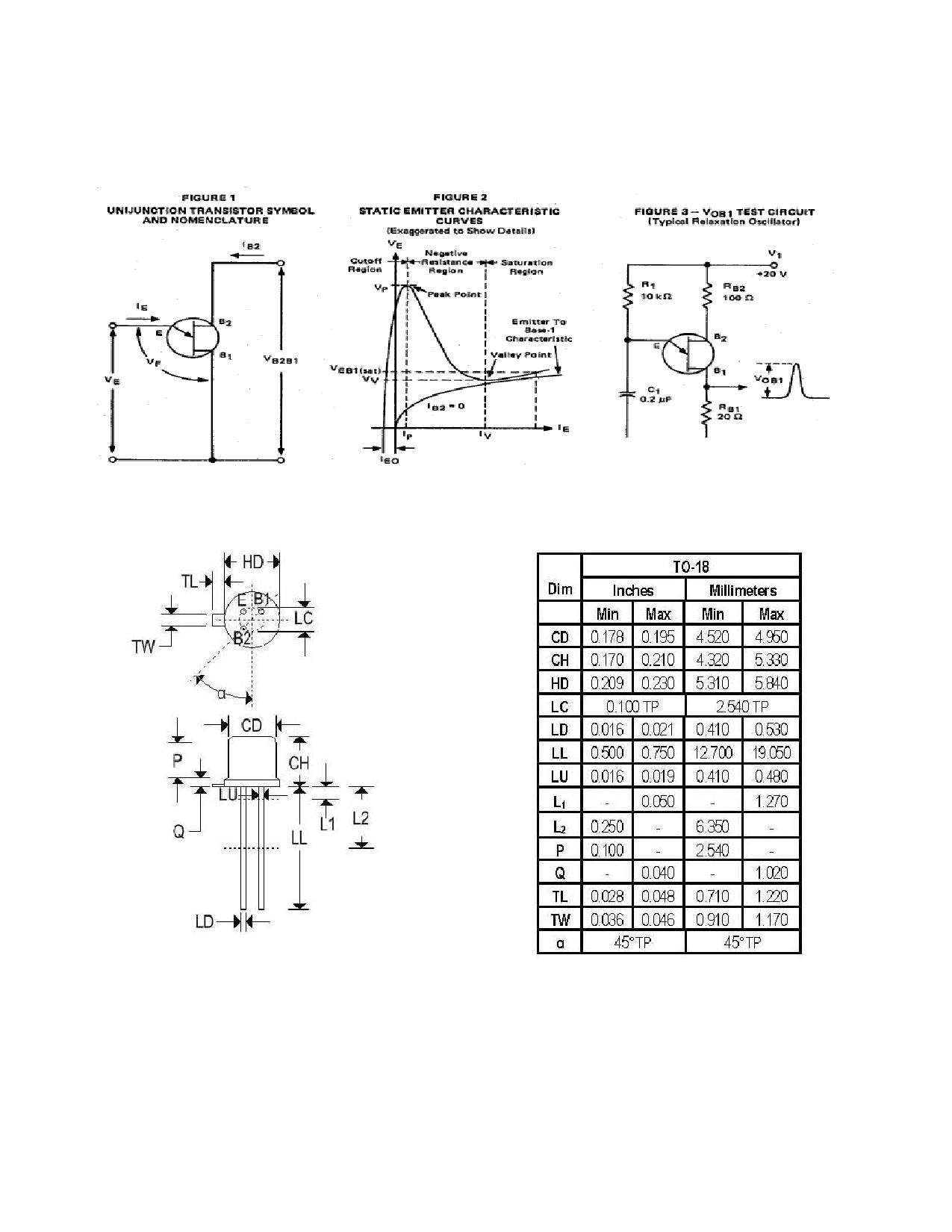2n2418a datasheet pdf   pinout