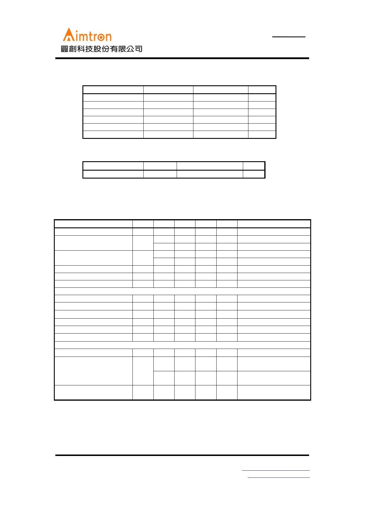 AT1506 pdf, ピン配列