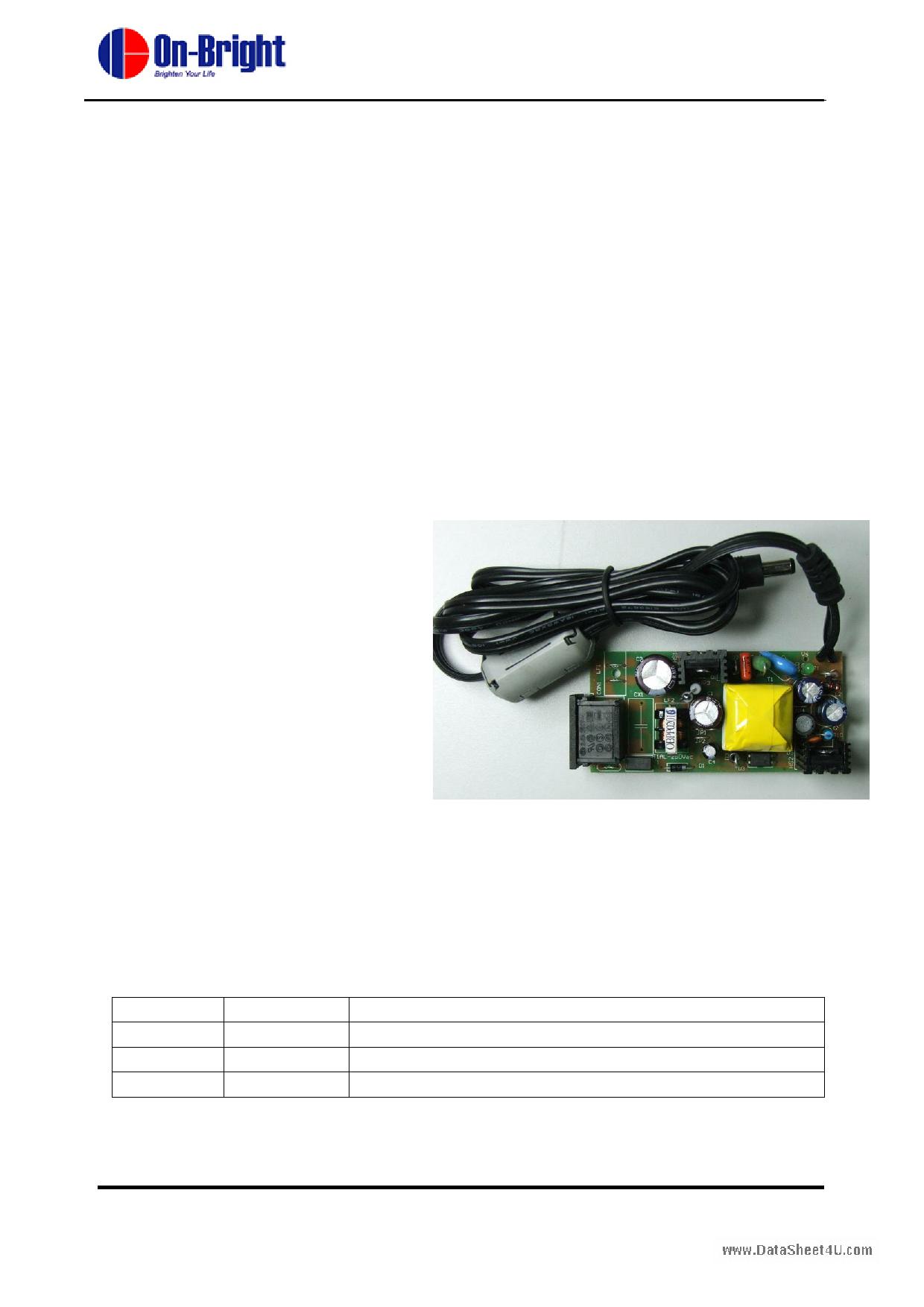 OB2262 دیتاشیت PDF