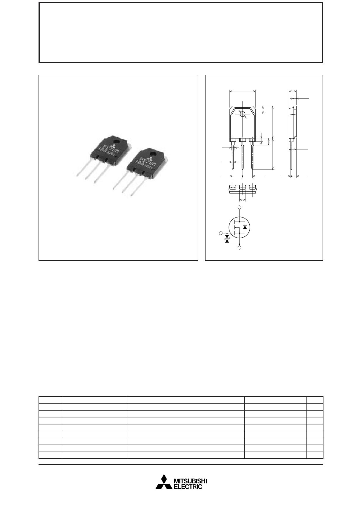 FS7SM-16A datasheet