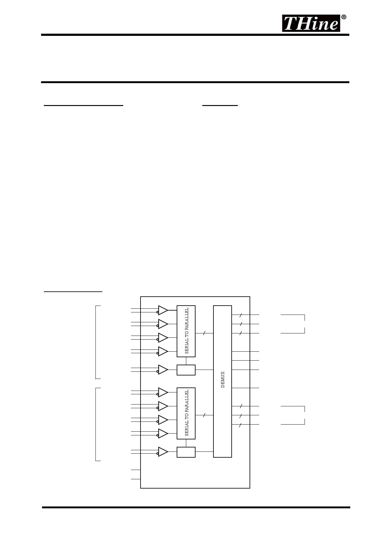 THC63LVD824 datasheet