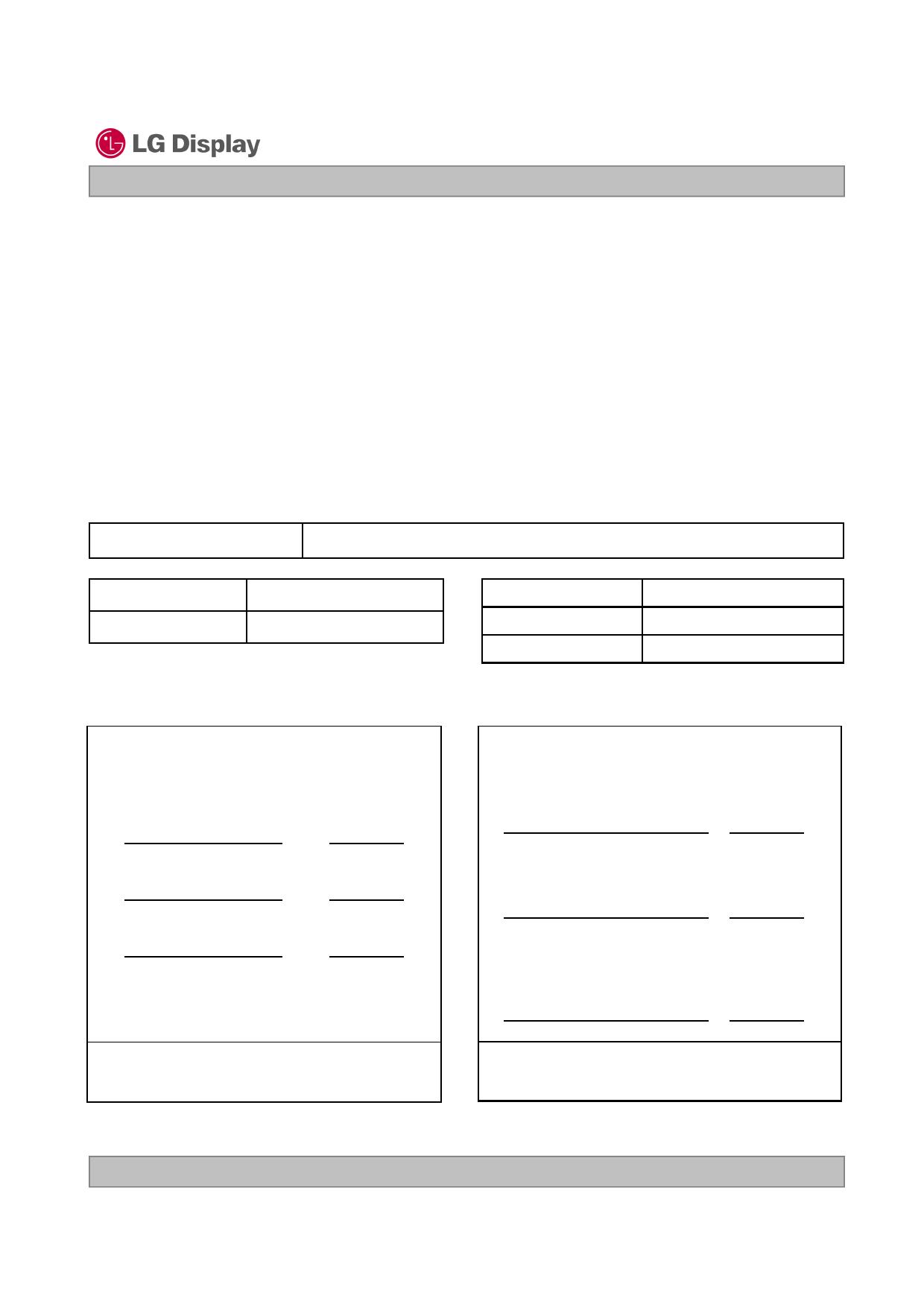 LP156WH3-TLAA 데이터시트 및 LP156WH3-TLAA PDF