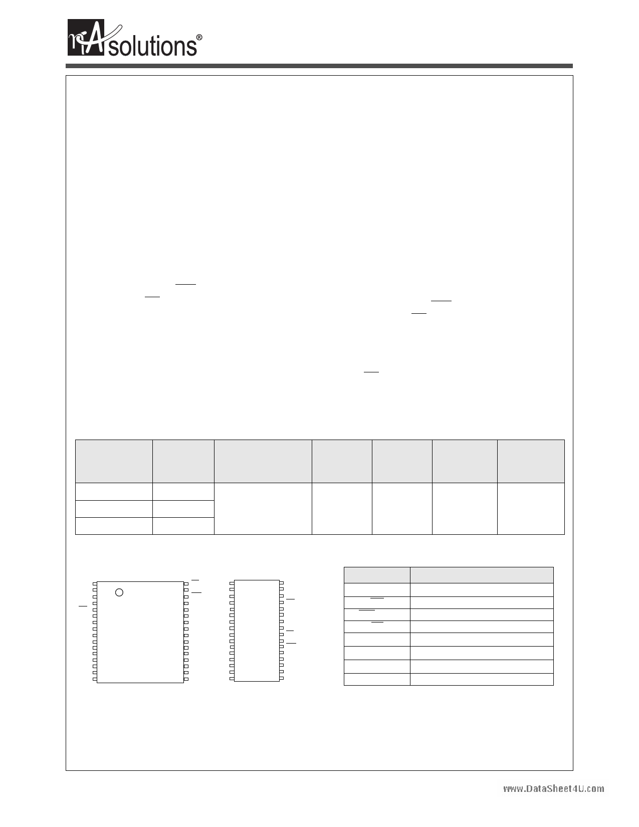 N01L083WC2A datasheet