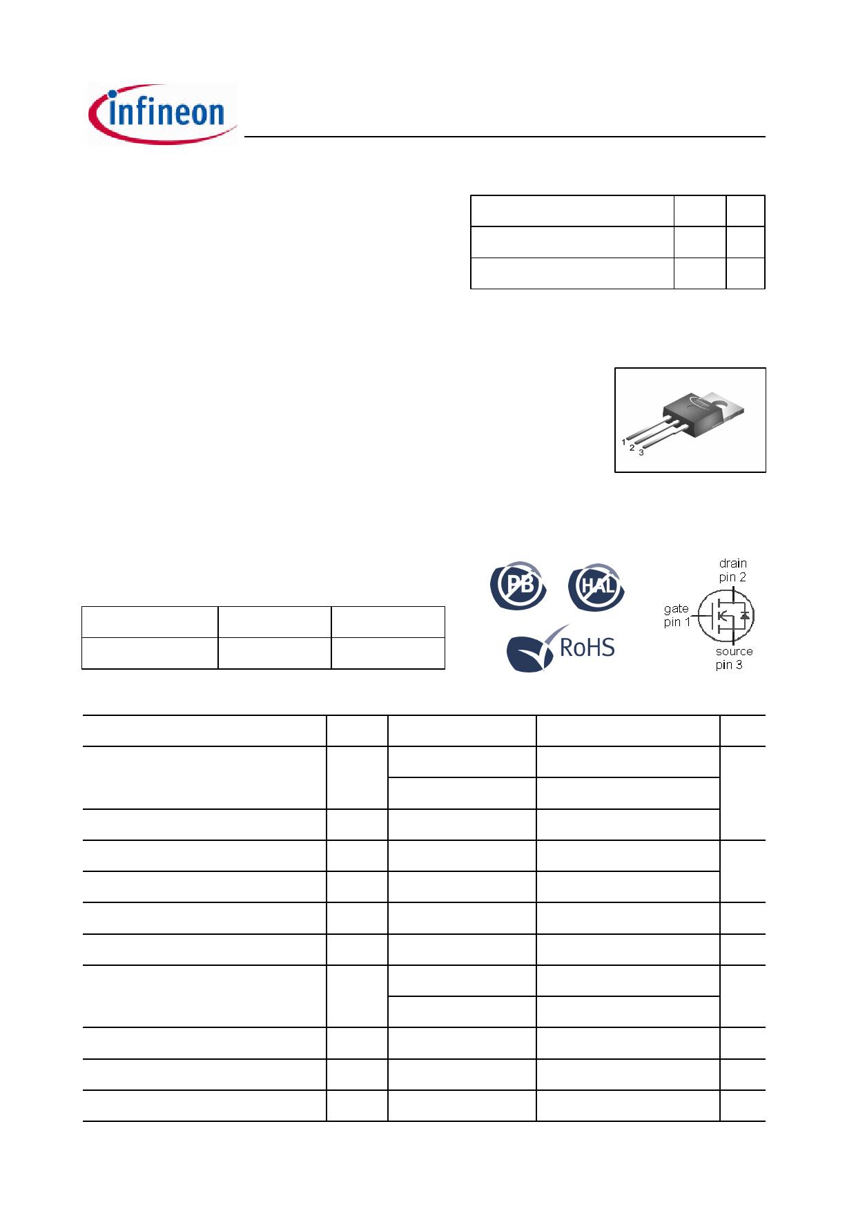 08N80C3 datasheet pinout