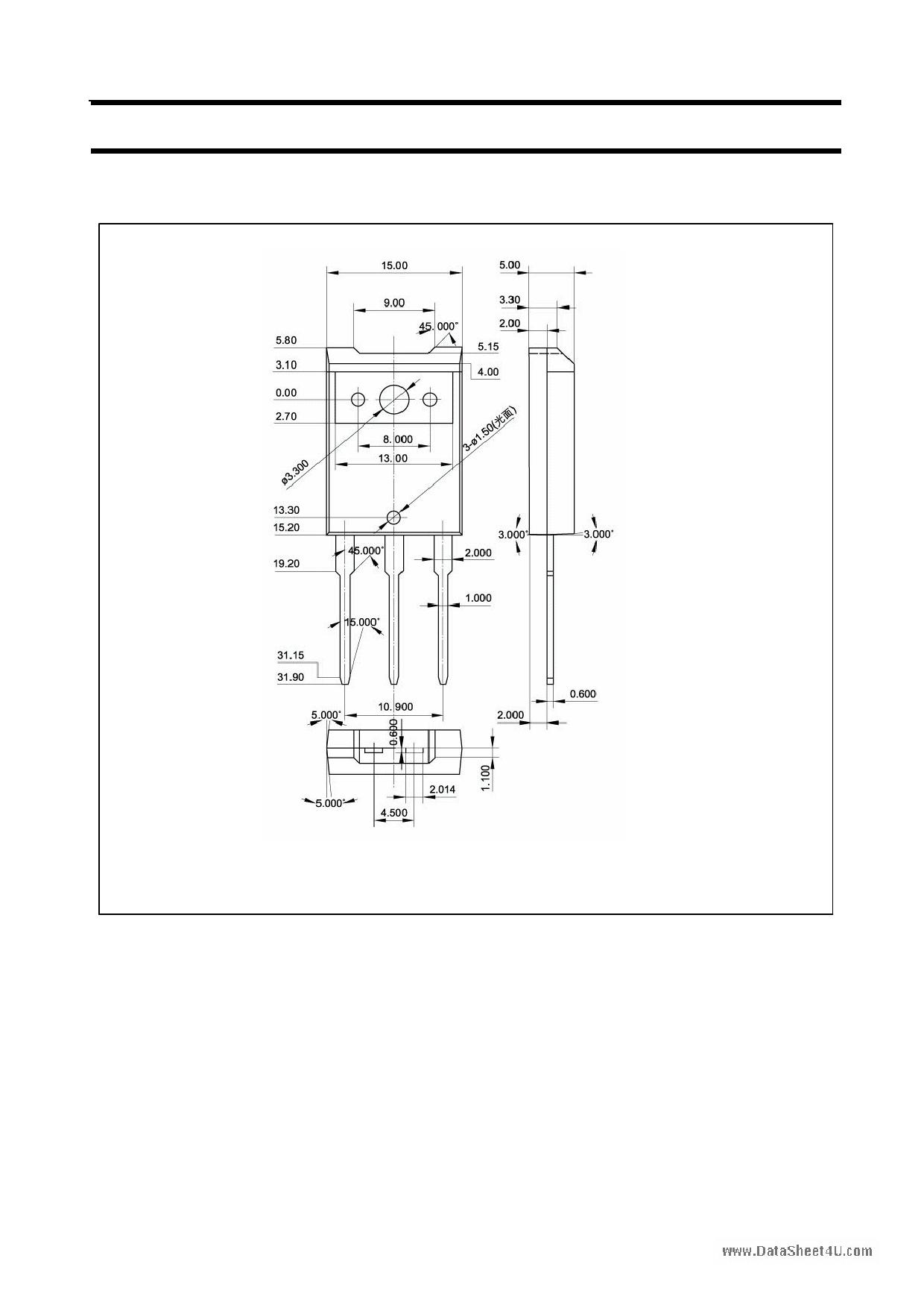 2SC3211 pdf, ピン配列