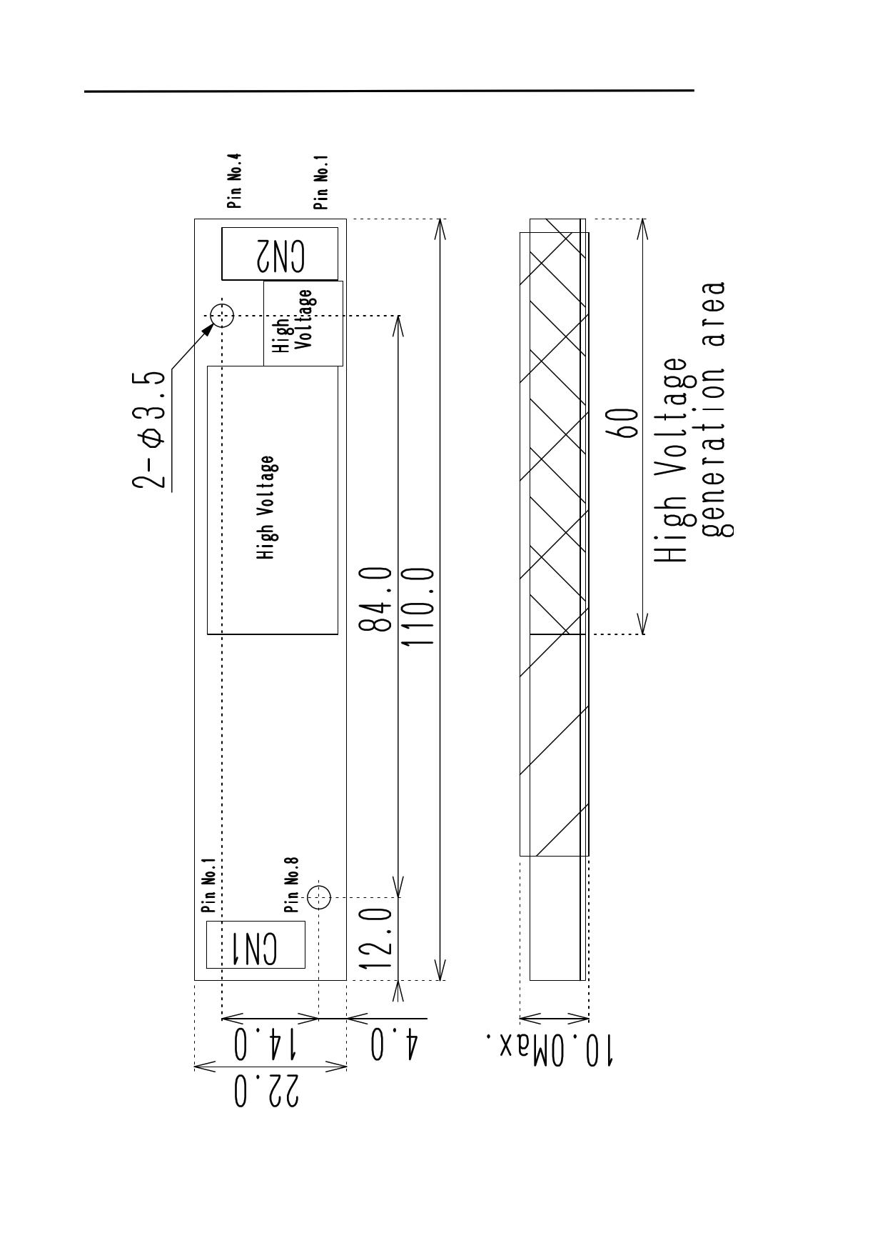 VNL08C351-INV pdf, schematic