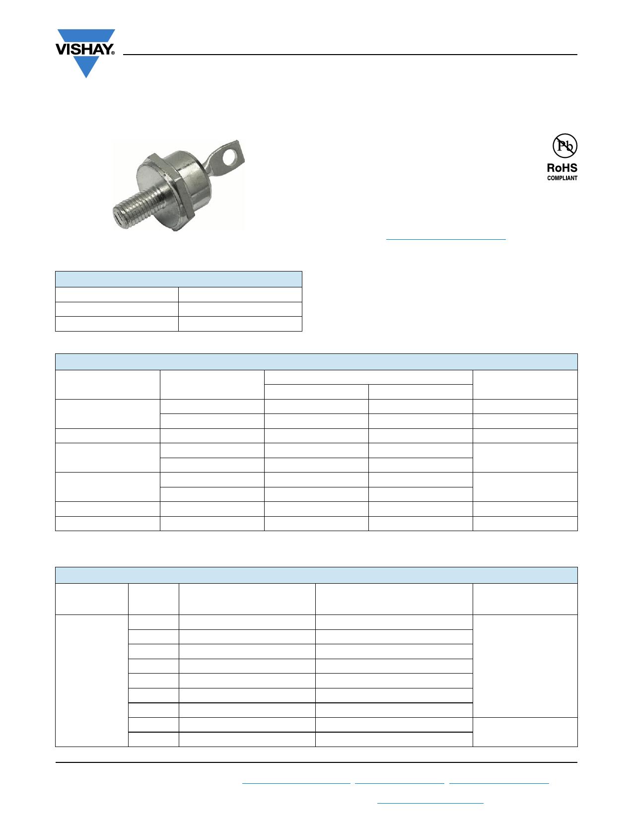VS-87HFR80 datasheet