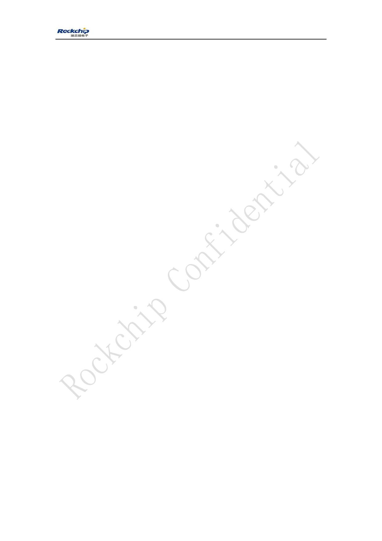 RK3128 データシート pdf pinout