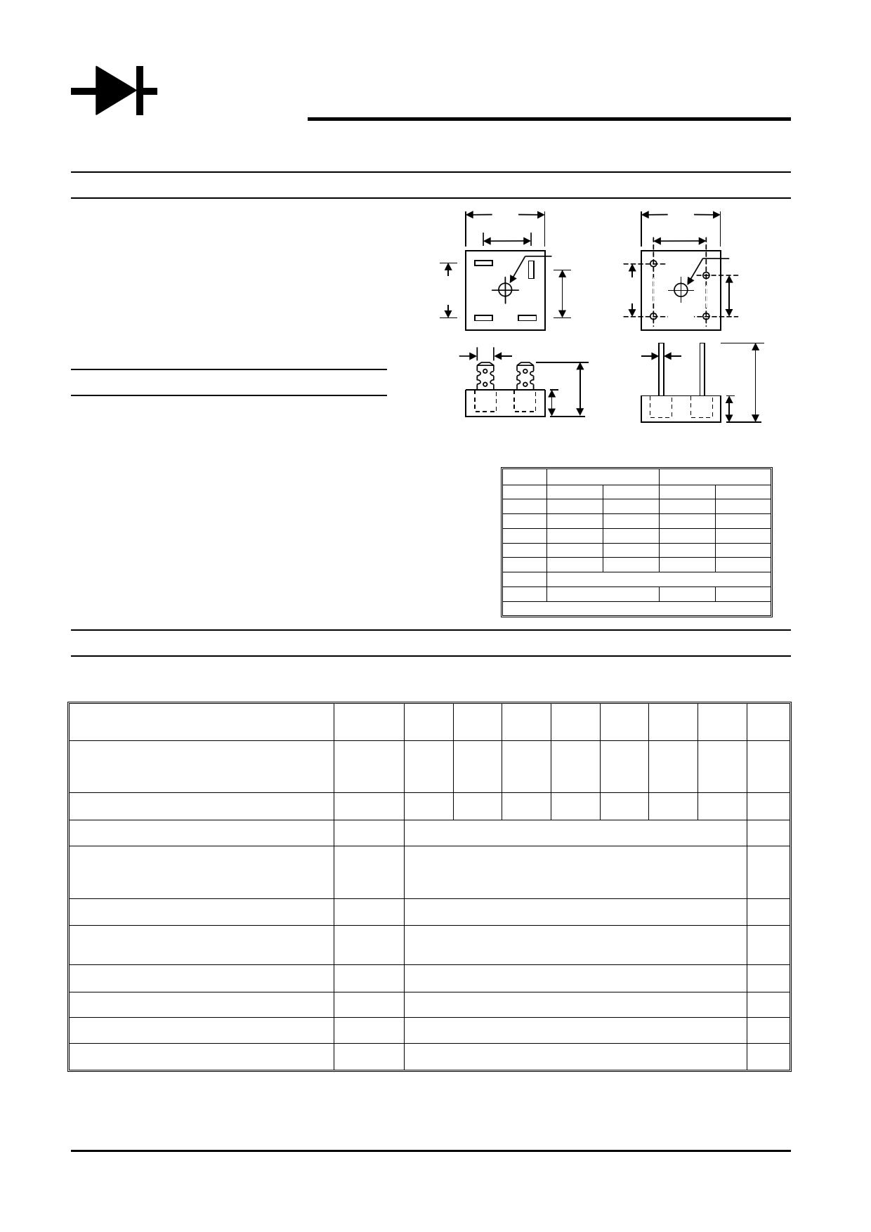KBPC1001 دیتاشیت PDF
