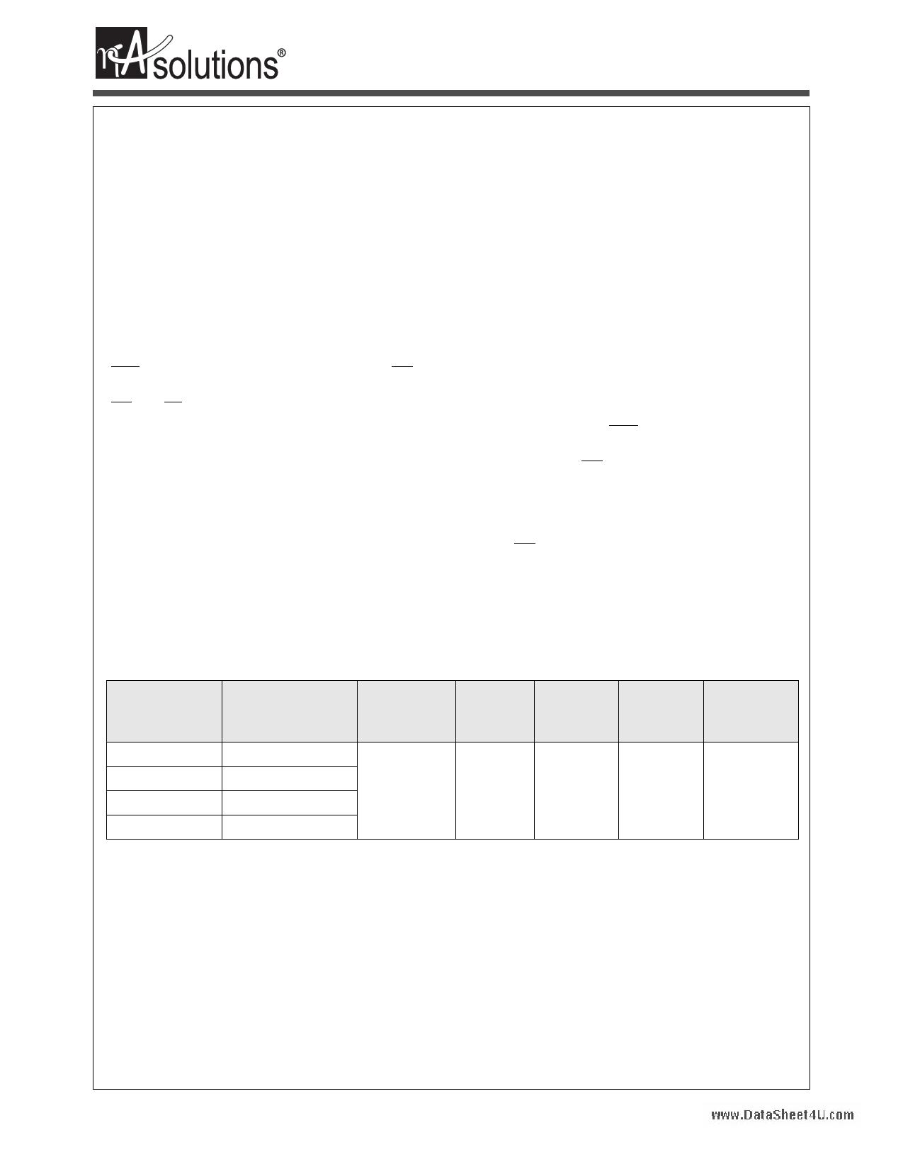 N01L163WC2A datasheet