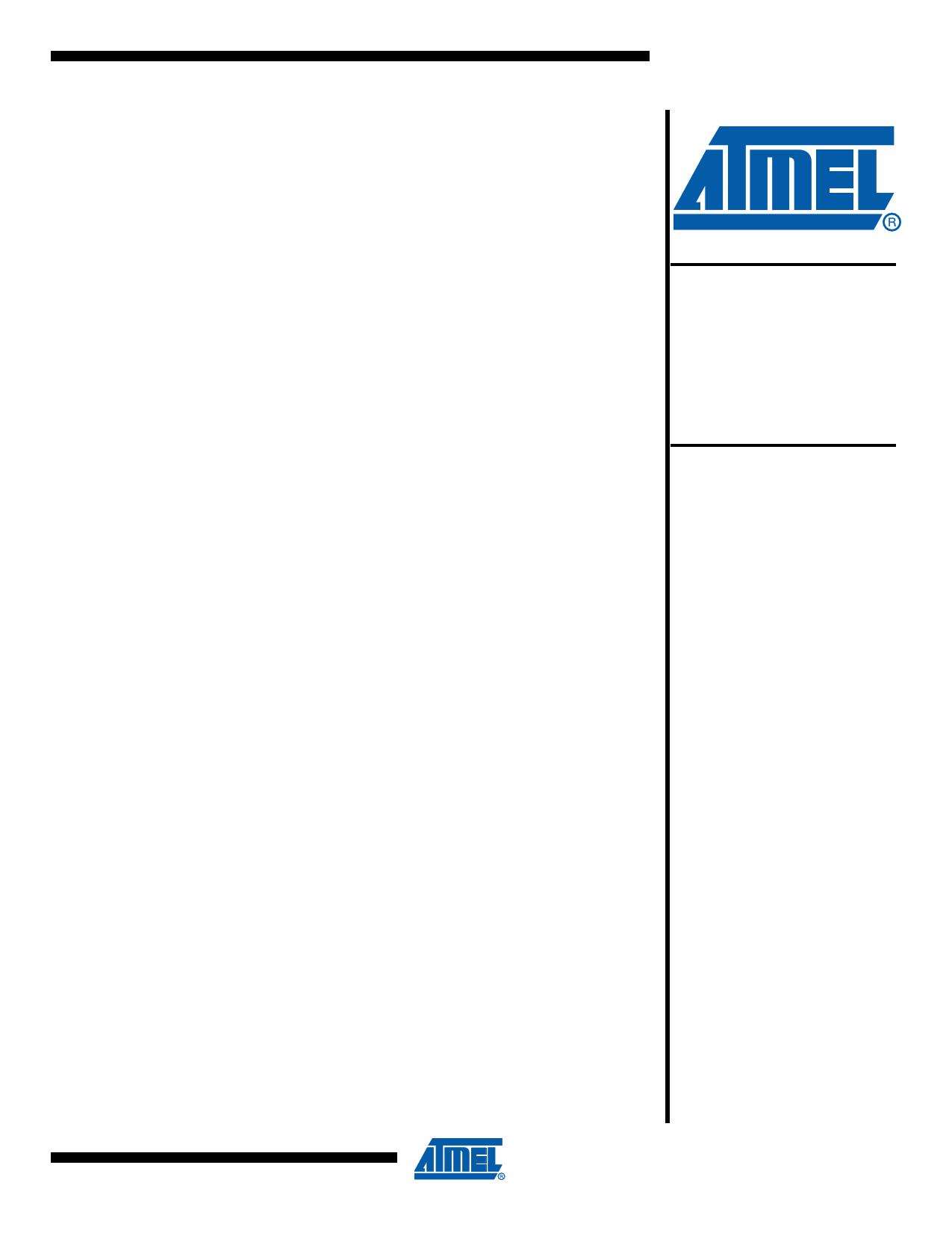 AT89LP2052 datasheet